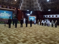 Ketua Mahkamah Syar'iyah Aceh Menghadiri Pengukuhan Keanggotaan Dewan Syariah Aceh.