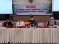 MS Aceh Mengadakan Diskusi Tentang Implementasi Qanun No. 11 tahun 2018 Tentang Lembaga Keuangan Syariah (LKS)