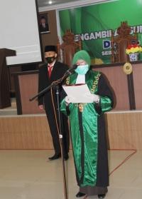 Ketua Mahkamah Syar'iyah Aceh Mengambil Sumpah dan Melantik Wakil Ketua Mahkamah Syar'iyah Aceh