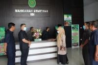 Ketua Dan Wakil Ketua Mahkamah Syar'iyah Aceh Sambangi MS Idi