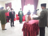 Ketua MS Idi Jadi Saksi Pelantikan Anggota KIP Aceh Timur