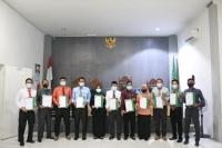 Penandatanganan Pakta Integritas MS Blangpidie Tahun 2021