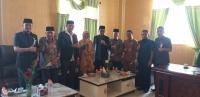 Jalin Kerja Sama, Ketua MS Aceh Temui Ketua DPRK Aceh Timur