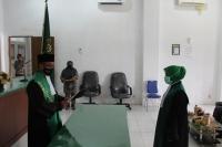 Pelantikan dan Pengantar Tugas Hakim MS Tapaktuan