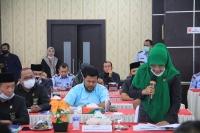 Ketua MS Aceh, Tegaskan Kepada Komisi 3 DPR RI, Lembaga MS salah satu lembaga keistimewaan Solusi dari Konflik Aceh