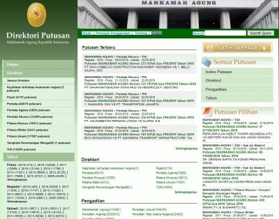 File PDF Putusan Tidak Tampil di Direktori Putusan, Ini Penyebabnya