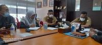 Ketua Mahkamah Syar'iyah Aceh Mengadakan Pertemuan Dengan Kepala Bappeda Aceh