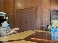 Ketua Mahkamah Syar'iyah Aceh Bertemu dengan Bupati Aceh Besar
