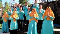 Keluarga Besar Mahkamah Syar'iyah Simpang Tiga Redelong Mengucapkan Minal Aidzin Wal Faidzin 1441 H