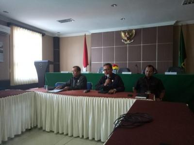 Panitera Mahkamah Syar'iyah Aceh Sosialisasikan  Hasil Rapat Persiapan Rakernas Ipaspi Tahun 2019