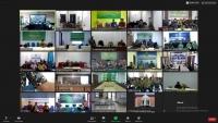 MS Blangpidie Mengikuti Pembinaan MS Aceh Melalui Virtual Meeting