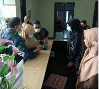 Ketua Mahkamah Syar'iyah Aceh  Melakukan Pembinaan dan Monev di MS Lhoksukon