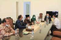 Ketua Mahkamah Syar'iyah Aceh Silaturrahmi Dengan Wali Nanggroe