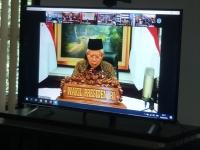 Ketua dan Hakim MS Aceh mengikuti Seminar Nasional Ekonomi Syairah