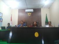 MS Kota Subulussalam Rapat Evaluasi  Pembangunan Zona Integritas