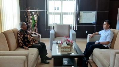 Asisten Waka Non Yudisial dan Kasubbag Data Biro Kepegawaian MA Berkunjung ke MS Aceh   (24/2)