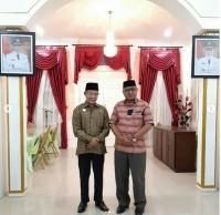 Bupati Simeulue Menerima kunjungan Wakil Ketua Mahkamah Syar'iyah Aceh