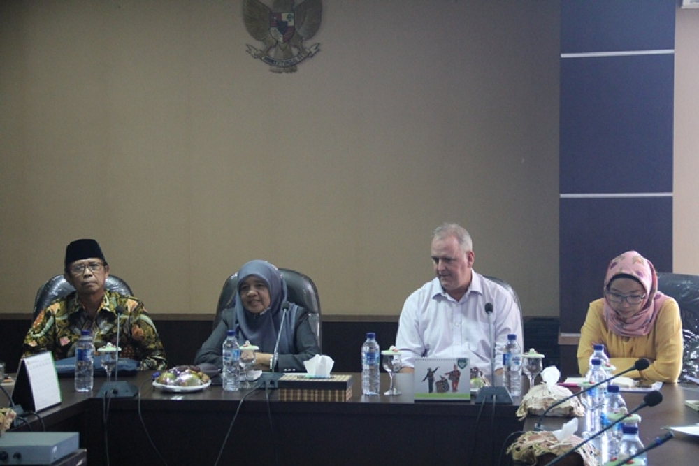Australia Indonesia Partnership For Justice (AIPJ2) Melakukan Sharing Dengan Hakim Tinggi Mahkamah Syar'iyah Aceh