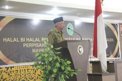 Halal Bi Halal, Pelepasan Tugas dan Purnabakti Hakim dan Pegawai Mahkamah Syar'iyah Aceh