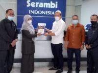 Ketua Mahkamah Syar'iyah Aceh Kunjungi Serambi Indonesia