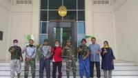 Penyemprotan Disinfektan di Mahkamah Syar'iyah Kualasimpang