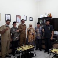 Ketua MS Aceh Jalin Silaturahmi Dengan Bupati Aceh Timur
