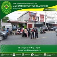 MS Blangpidie Berbagi Takjil & Public Campaign Zona Integritas