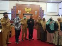 Ketua MS Aceh Hadiri Undangan Rapat kerja di DPRA