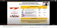 MS Calang Mengikuti Rakornas Hasil Pengawasan Implementasi Dispensasi Kawin Usia Anak